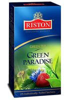 "Чай зеленый ""Riston. Green Paradise"" (25 пакетиков)"