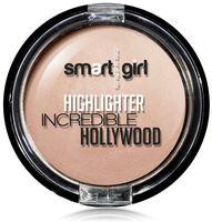 """Хайлайтер для лица """"Incredible Hollywood"""" тон: 02, жемчужно-розовый"""