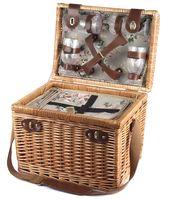 Набор посуды для пикника в корзине (на 4 персоны; арт. 10593176)