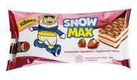 """Пирожное бисквитное """"Snow Max"""" (30 г; с клубничной начинкой)"""
