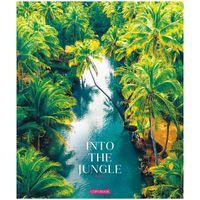 """Тетрадь полуобщая в клетку """"Inside the Nature"""" (48 листов)"""