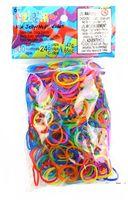 """Набор резиночек для плетения """"Rainbow Loom. Гелевый Микс"""" (600 резинок+24 клипсы)"""
