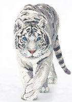 "Вышивка бисером ""Белый тигр"" (арт. РС-326)"