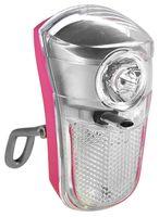 """Фонарь передний для велосипеда """"HW 160263"""" (розовый)"""