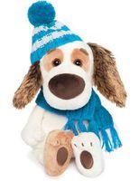"""Мягкая игрушка """"Бартоломей Baby в шапочке и шарфе"""" (20 см)"""