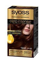 "Краска для волос ""Oleo intense"" тон: 3-82, красное дерево"