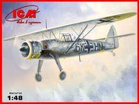 Германский самолет разведчик Hs 126B-1 (масштаб: 1/48)