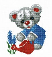 "Вышивка крестом ""Мишка"" (140x170 мм)"