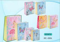 """Пакет бумажный подарочный """"Бабочка"""" (в ассортименте; 32x44x12 см; арт. МС-3006)"""