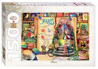 """Пазл """"Париж. Жизнь - открытая книга"""" (1500 элементов)"""