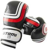 Перчатки боксёрские LTB-16111 (S/M; чёрные; 8 унций)