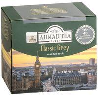"""Чай черный """"Ahmad Tea. Классик Грей"""" (40 пакетиков)"""