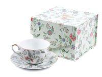 """Чашка с блюдцем """"Tiffany"""" (арт. M1270252)"""