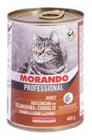 """Консервы для кошек """"Gatto"""" (405 г; дичь и кролик)"""