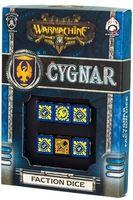 """Набор кубиков """"Warmachine Cygnar Faction"""" (6 шт.; синий)"""