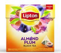 """Чай черный """"Lipton. Almond Plum"""" (20 пакетиков)"""