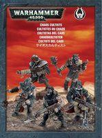 """Набор миниатюр """"Warhammer 40.000. Chaos Space Marines Cultists"""" (35-34)"""