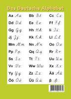 Немецкий алфавит. Образцы печатных и письменных букв (настольный плакат)