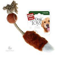 """Игрушка для собак с пищалкой """"Лисий хвост"""" (40 см)"""