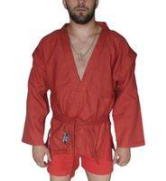 Куртка для самбо AX5 (р. 38; красная; без подкладки)