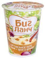 """Пюре картофельное быстрого приготовления с соусом """"Биг Ланч. С луком и гренками"""" (50 г)"""