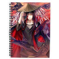 """Скетчбук """"Naruto"""" (А5; арт. 4529)"""
