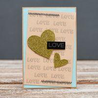 "Открытка ""Love"" (арт. 18-SV-348)"