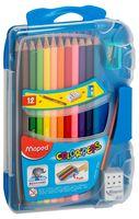 """Набор карандашей цветных """"Color Peps"""" (15 предметов; 12 цветов)"""