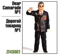 "Миниатюра ""Дорогой товарищ №1 (Брежнев)"" (масштаб: 1/43)"