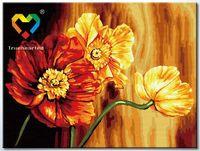 "Картина по номерам ""Знойные цветы"" (300x400 мм; арт. HB3040135)"
