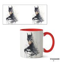 """Кружка """"Бэтмен из вселенной DC"""" (арт. 699, красная)"""