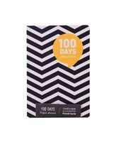 """Планер """"100 Days"""" (А5; желтый)"""