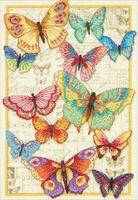 """Вышивка крестом """"Красота бабочек"""""""