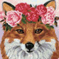 """Алмазная вышивка-мозаика """"Рыжая красавица"""" (200х200 мм)"""