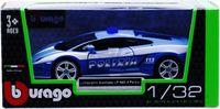 "Модель машины ""Bburago. Lamborghini Gallardo LP 560-4 Polizia"" (масштаб: 1/32)"