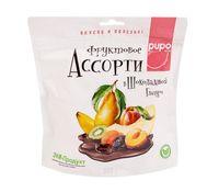 """Ассорти фруктовое в шоколадной глазури """"Pupo"""" (300 г)"""