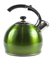 Чайник металлический со свистком (3 л; арт. GS-0434BY-G)
