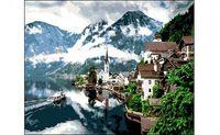"""Картина по номерам """"Туманное утро в горах"""" (400x500 мм)"""