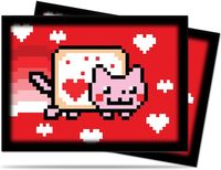 "Протекторы ""ValentNyan Cat"" (66х91 мм; 50 шт.)"