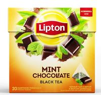 "Чай черный ""Lipton. Mint Chocolate"" (20 пакетиков)"