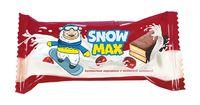"""Пирожное бисквитное глазированное """"Snow Max"""" (40 г; с вишневой начинкой)"""