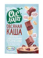 """Каша быстрого приготовления овсяная """"Ол'Лайт. С шоколадными кусочками"""" (40 г)"""