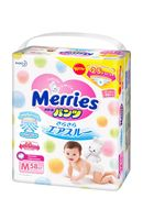 "Подгузники-трусики ""Merries M"" (6-11 кг; 58 шт.)"