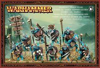 "Набор миниатюр ""Warhammer FB. Lizardmen Temple Guard"" (88-12)"