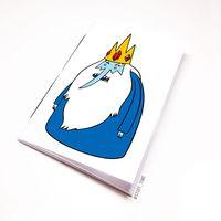 """Блокнот """"Время приключений. Ледяной король"""" (А5; арт. 095)"""