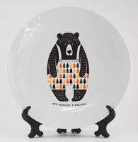 """Тарелка """"Медведь"""" (арт. 064)"""