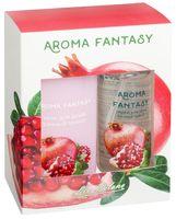 """Подарочный набор """"Aroma Fantasy. Сочный гранат"""" (спрей, гель для душа)"""