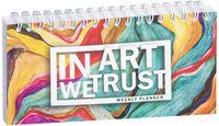 "Планер ""In ART we trust"" (80x160 мм)"