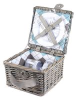 Набор посуды для пикника в корзине (на 2 персоны; арт. 10794606)