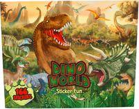 "Раскраска ""Creative Studio. Сreate Your Dino World"" (+ наклейки)"